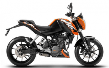 KTM Duke 250 on rent in Varanasi